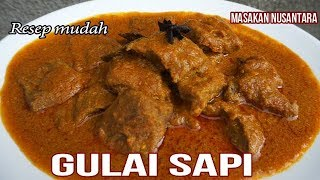 Download Video RESEP GULAI SAPI | GULAI DAGING MP3 3GP MP4