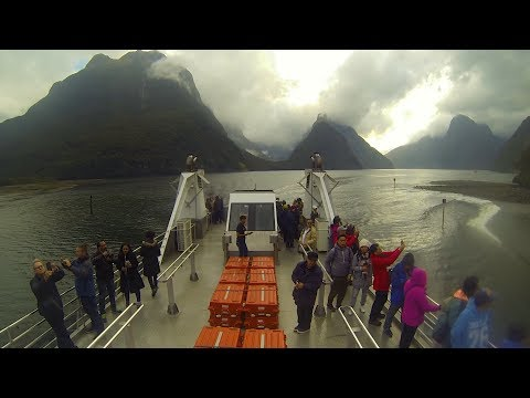 Cruise Down The Milford Sound!