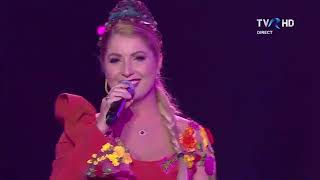 Letitia Moisescu &amp Sensibil Balkan - D A I N A Live qualified in the final Eurovision R ...