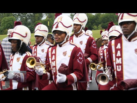 Alabama A&M University Marching Band - Marching In - 2016