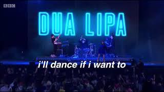 Dua Lipa - Want To | Lyrics Video