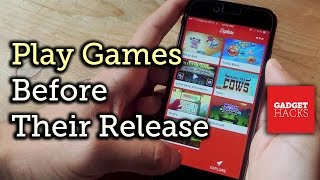 Test Games! Play Them Before They're Released in the iOS App Store - iPad & iPhone [How-To]