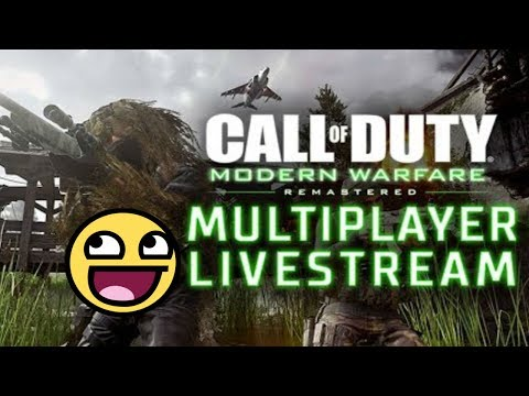 THEY BROUGHT DEMOLITION! (NEED A FORNITE CODE) (COD MWR LIVESTREAM REPLAY)