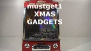Penny Pusher Arcade Coin Slot Battery Machine Lights Music
