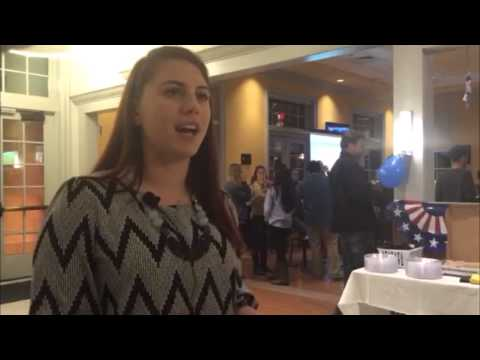 Interviews with Randolph-Macon College students and faculty on election night