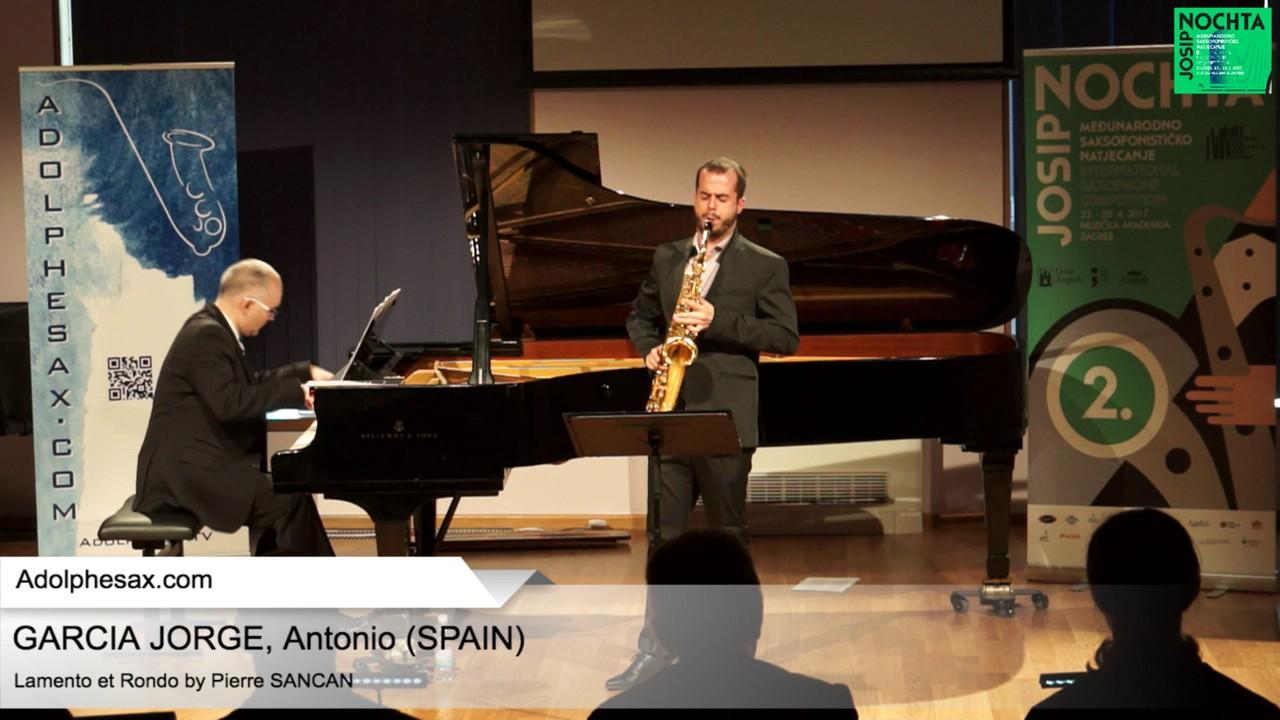 Lamento et Rondo (Pierre Sancan) - GARCIA JORGE, Antonio (Spain)