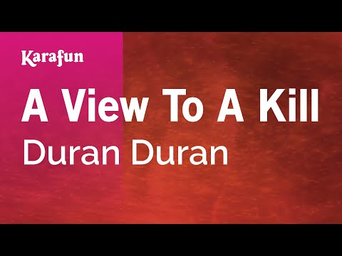 Karaoke A View To A Kill - Duran Duran *