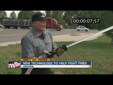 New technology to help fight fires