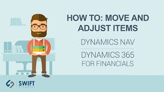 How To: Move and Adjust Items in Dynamics NAV