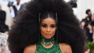Ciara's afro-chic inspired Met Gala looks