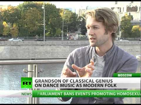Prokofiev's grandson on electro past, classical future