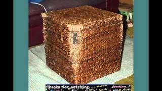 Wicker Storage Box Designs | Wicker Furniture Ideas