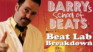 BARRYS SCHOOL OF BEATS: LAB TOUR ft spoof Rhythm Roulette hero Barry Beats