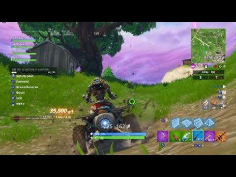 Dusty Divot Vehicle Time Trial Location Week 10 Season 6 Fortnite