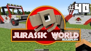 Minecraft Jurassic World: Jeeps! & Many More  Surprises today!! (40) Dinosaurs Roleplay