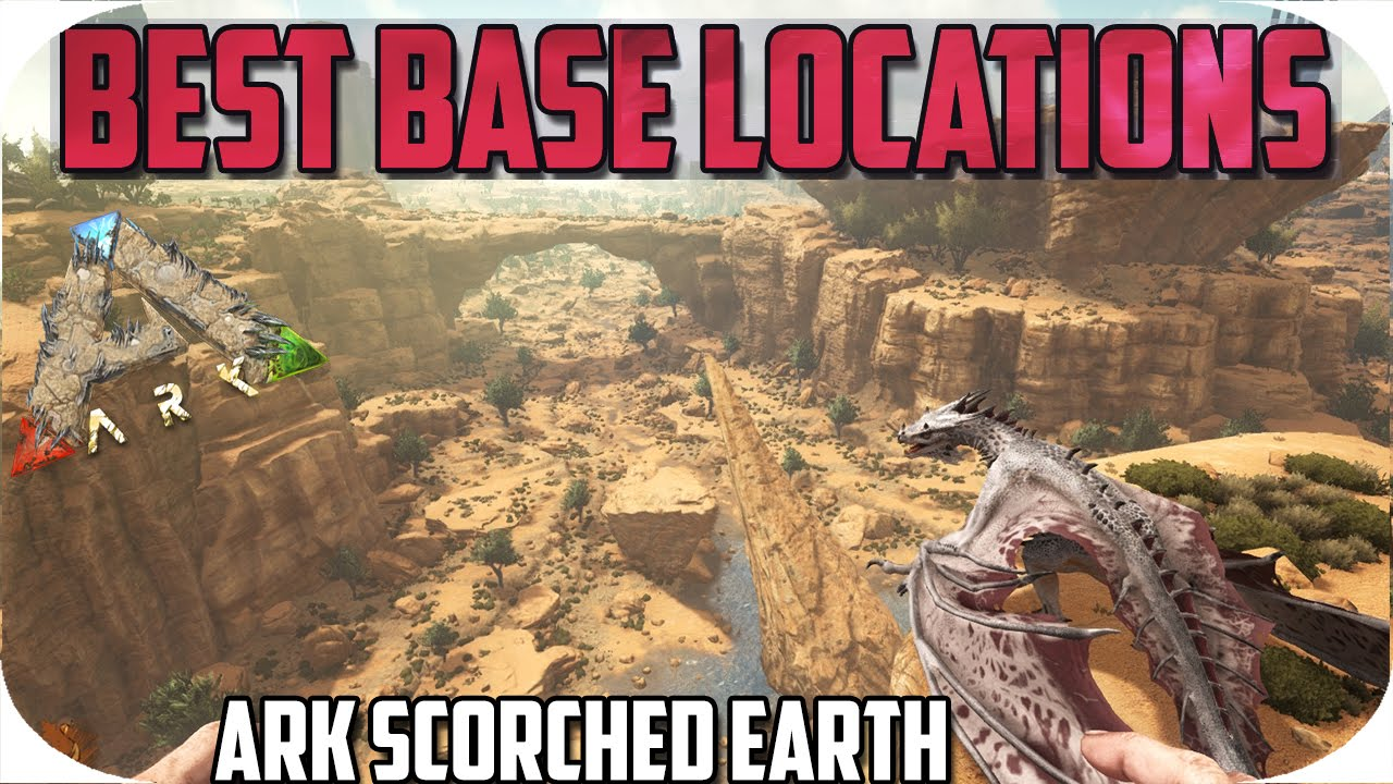 Best Places To Build On Scorched Earth