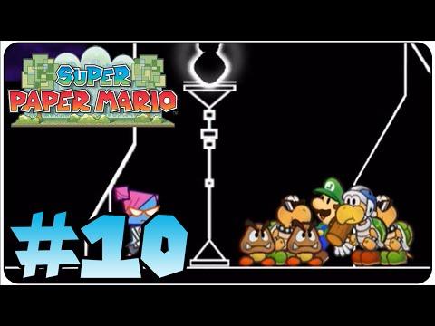Super Paper Mario Walkthrough Part 10 Heart Pillar 3