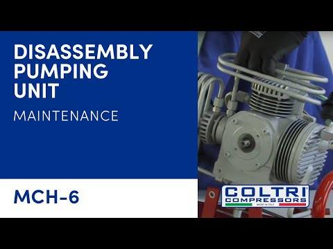 DISASSEMBLY PUMPING UNIT (FOR REVISION)