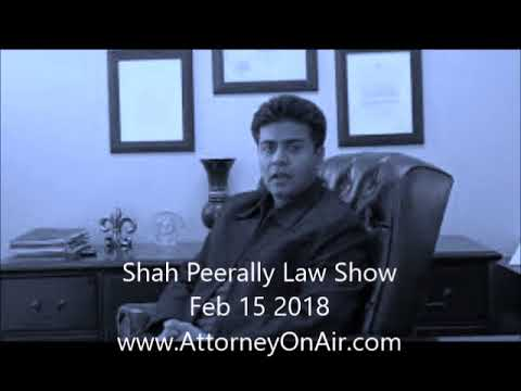 Immigration Law Show by Shah Peerally - Feb 15 2018