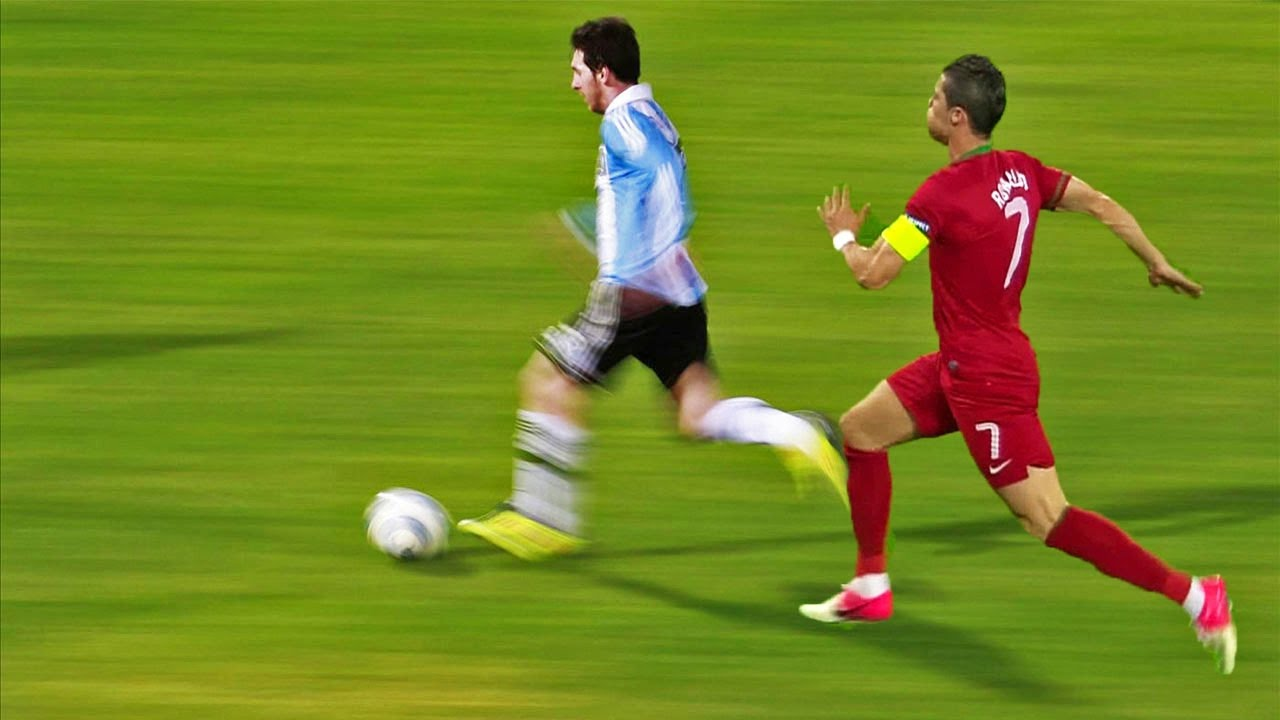 The fastest football player: speed and skill