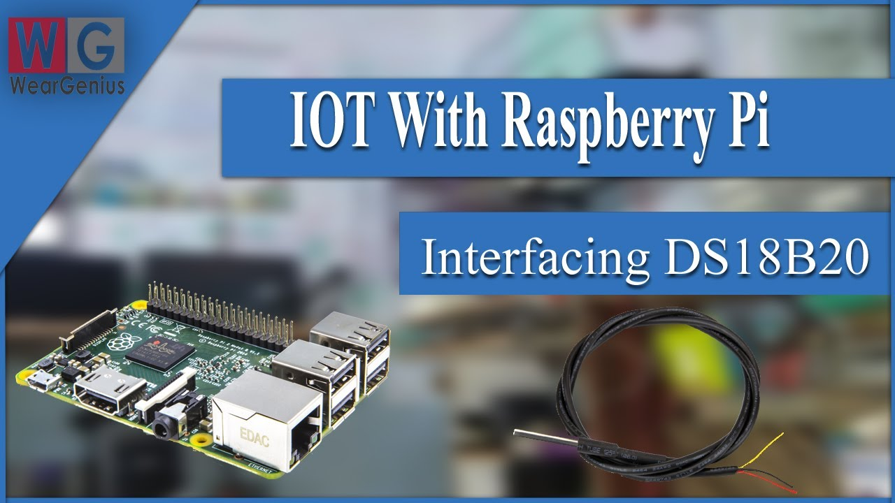 Ds18b20 Interfacing With Pi Using Pi4j And Java Iot Raspberry Electronic Circuit 1