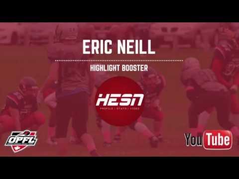 Eric Neill | 2017 OPFL | DB - CUMBERLAND PANTHERS