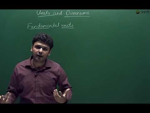Class 11 Physics - Fundamental & Derived Units