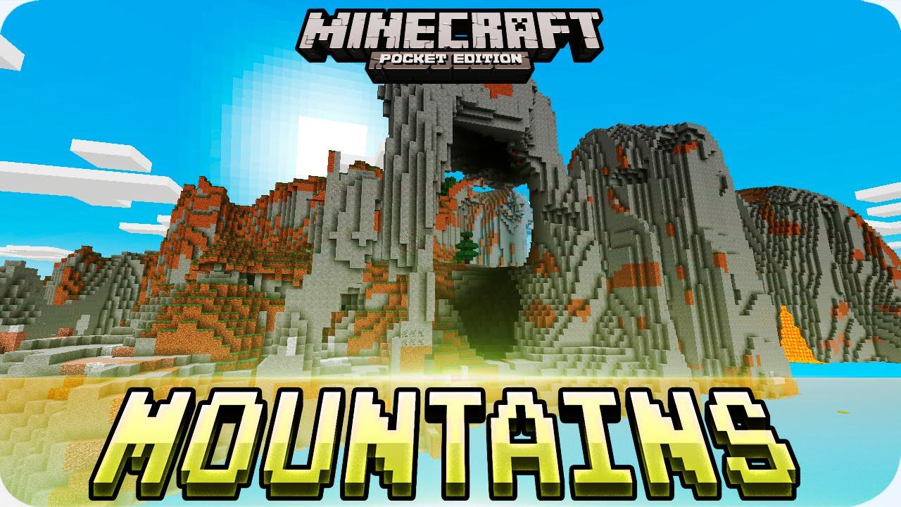 Minecraft Pe Seeds - Amazing Mountains  U0026 Huge Village Seed - 0 16 0    0 15 0 Mcpe