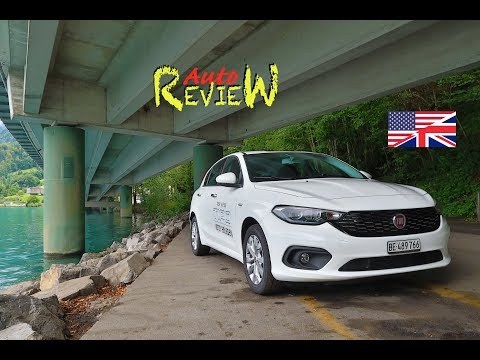 Fiat Tipo Lounge 1.4 T-Jet 120hp (2017) | AutoReview | Switzerland | Episode 76 [ENG]