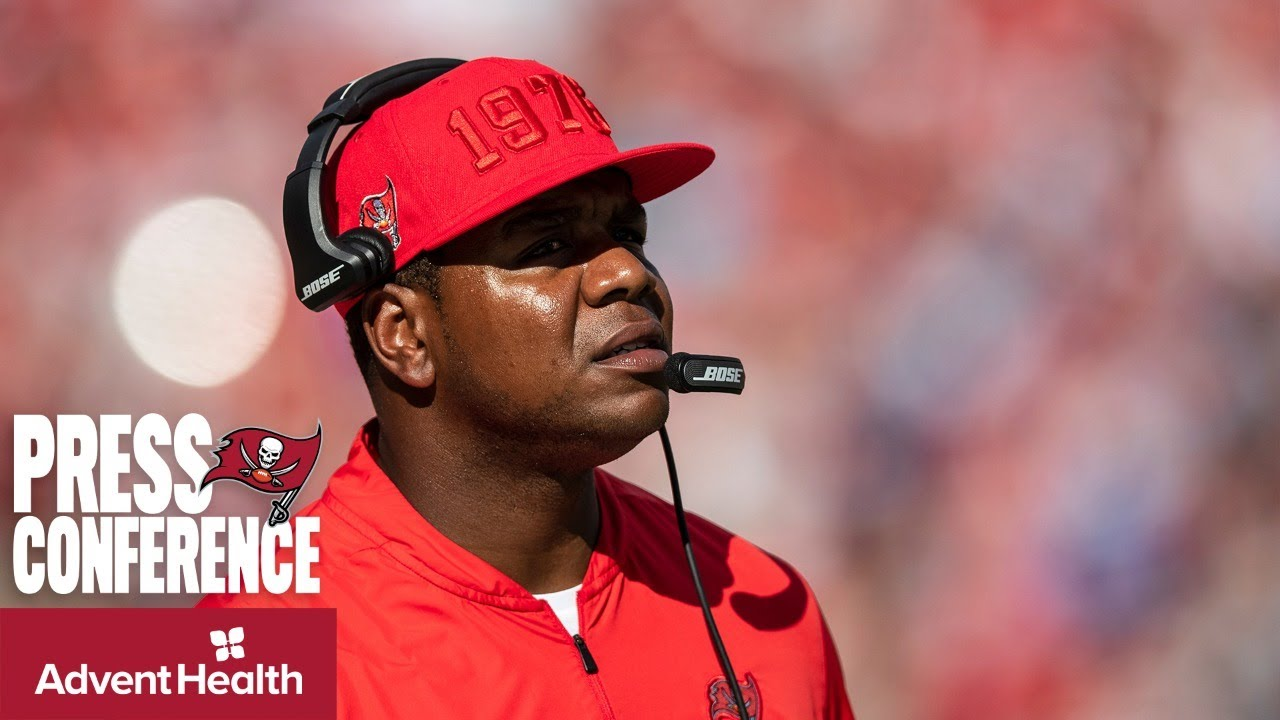 Byron Leftwich on Center Ryan Jensen: 'His Leadership is Priceless' | Press Conference