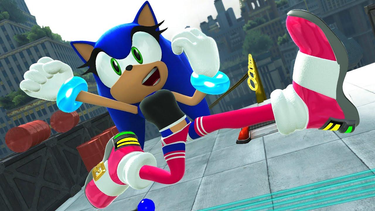 Female Sonic Youtube