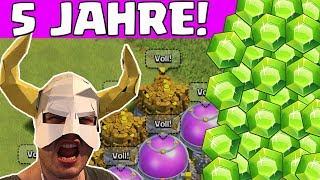 5 JAHRE CLASH OF CLANS! GROSSES UPDATE?! || CLASH OF CLANS || Let's Play CoC [Deutsch German]