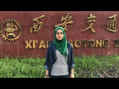 Indian students from Saudi Arabia in Xian Jiaotong University