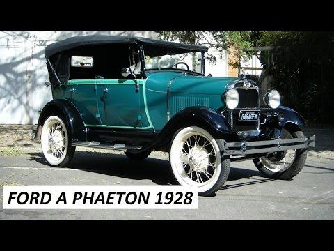 Garagem do Bellote TV: Ford Model A Phaeton