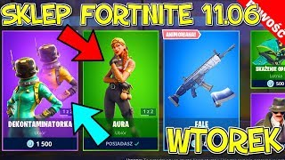 FORTNITE 11.06 STORE-NEW SKIN (painting) waves, Aura, poison killer, smooth movements, dabing