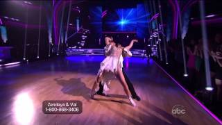 Zendaya & Valentin Chmerkovskiy - Freestyle - Dancing With the Stars 2013 - Week 10
