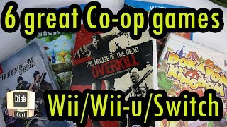 GREAT Co-op Games for Nintendo Switch, WiiU, & Wii