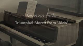 Triumphal March from Aida – Solo piano version