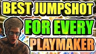 BEST PLAYMAKER JUMPSHOT IN NBA 2K17 • 21 POINT DROPOFF AT THE STAGE • PLAYSHOOTER CARRIES @ STAGE