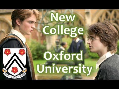 136. Нью Колледж, Оксфордский Университет. New College, Oxford University, UK.