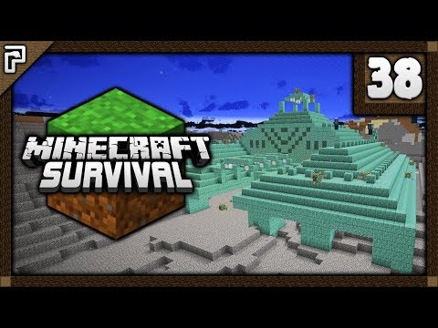 💎 Battling The MIGHTY Ocean Monument! | Let's Play Minecraft Survival 1.12