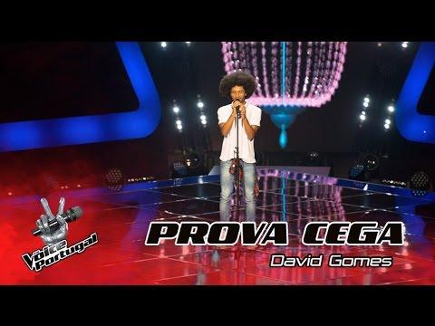 """David Gomes - """"Crazy in Love""""   Provas Cegas   The Voice Portugal"""
