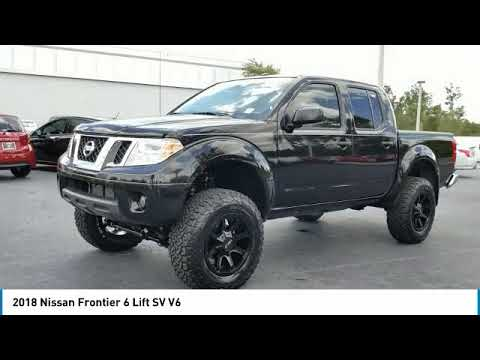 2018 Nissan Frontier 6 Lift Deland Nissan N756576