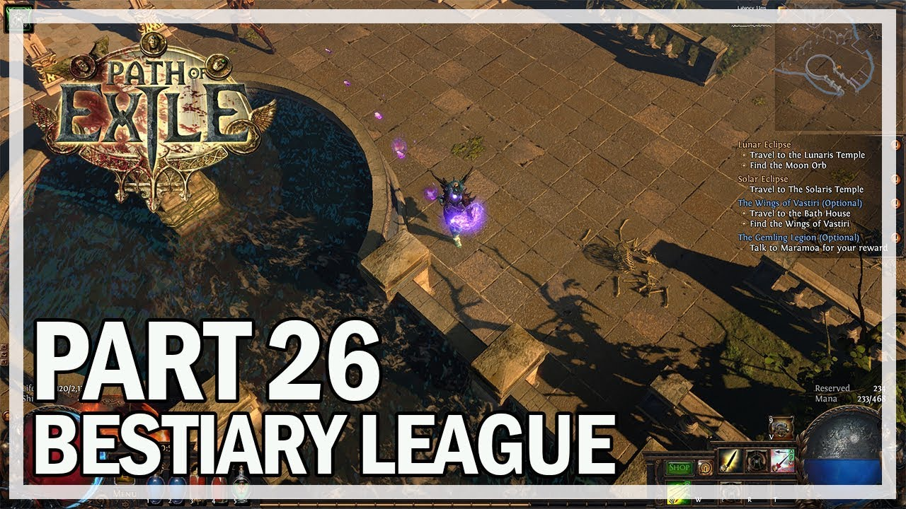 Path of Exile - Bestiary League Ranger Lets Play Part 26 - Grain ...