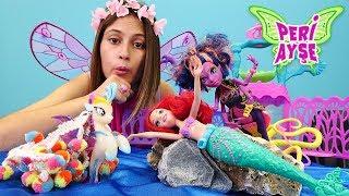 Peri Ayşe. Monster High Kala Mer'ri yaramazlık yapıyor! Çocuk videosu