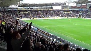 Birmingham fans at Hull City | Davo