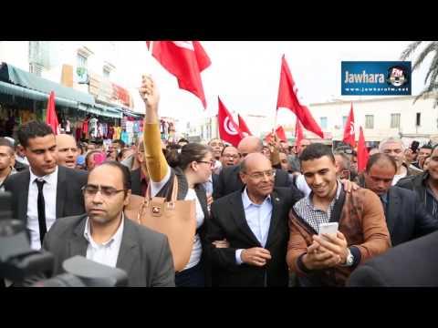 Moncef Marzouki à Sousse