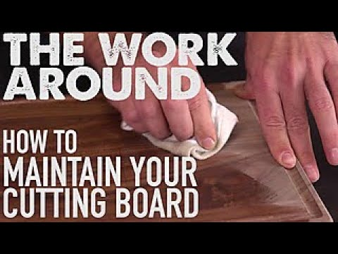 How to Care for a Wood Cutting Board - The Work Around - HGTV