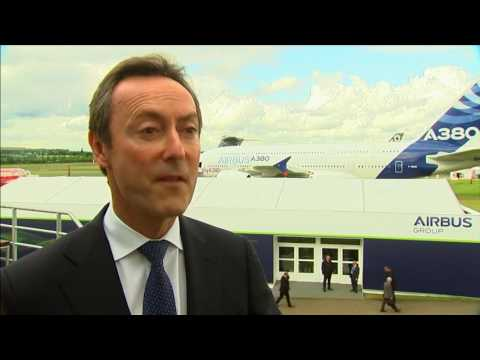 Airbus orders buck trend at Farnborough
