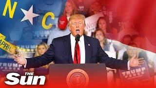 President Trump's North Carolina rally